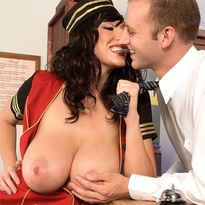 alia janine felt up big tits